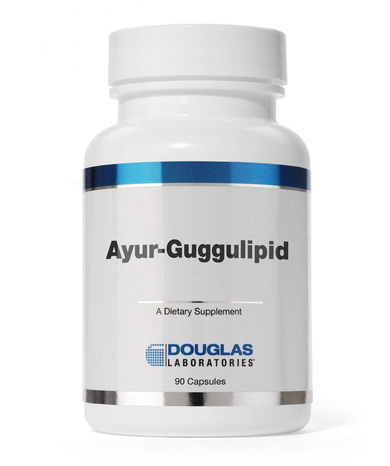 Ayur-Guggulipid - 90 Capsules - Douglas Labs