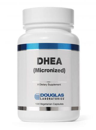 DHEA (Micronized)(50 mg.) - 100 Veg Caps - Douglas Labs