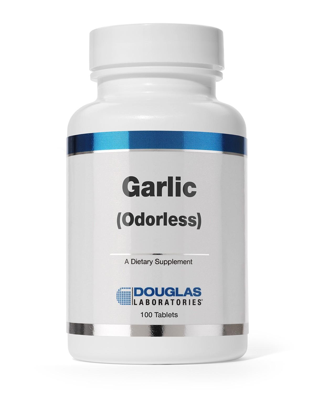 Garlic (Odorless) - 100 Tablets - Douglas Labs