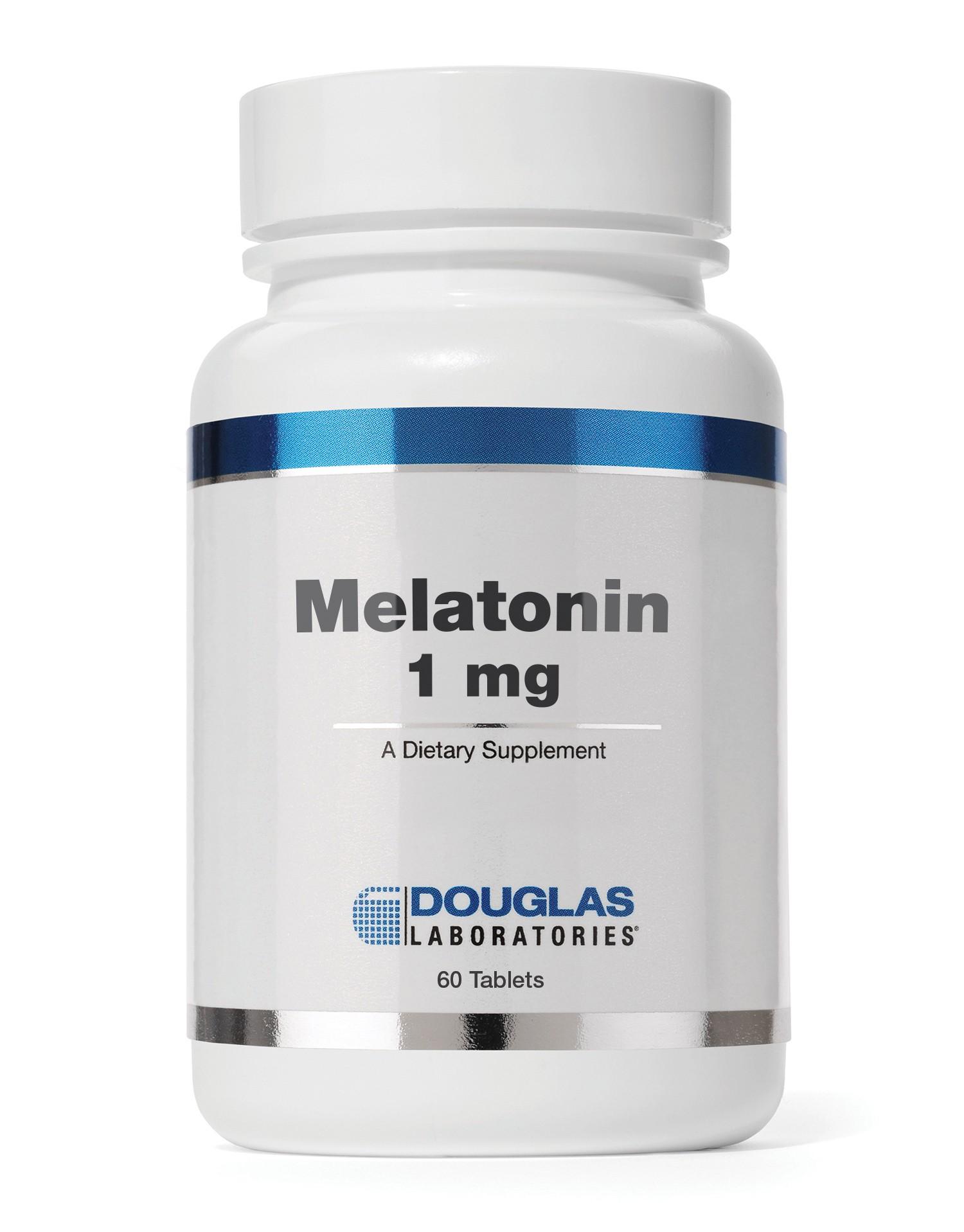 Melatonin (1mg) - 60 Tablets - Douglas Labs