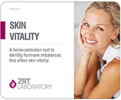 Skin Health Vitality Lab Test Profile SALIVA: E2, E3, Pg, T, DS, Cx4 DRIED BLOOD SPOT: TSH, D2, D3