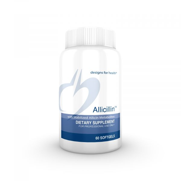 Allicillin™ 60 softgels | designs for health