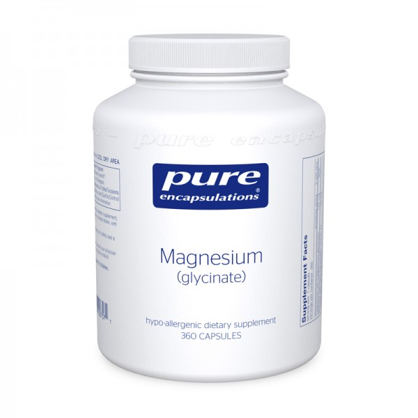 Magnesium (glycinate) 360 Capsules Pure Encapsulations