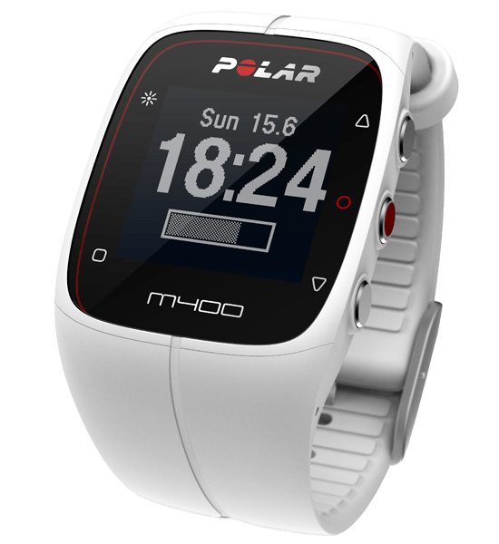 polar-m400-activity-gps-fitness-monitor-tracker-watch-white-heart-rate-choose-size-med-xl-30-45-inches